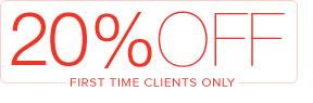 20% OFF For All New Clients